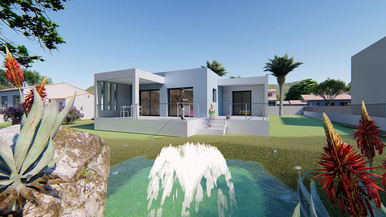 Construction maisons contemporaines Sami Construction